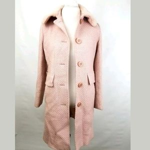JONES NEW YORK Womens 8 VINTAGE Barbie Pink Coat